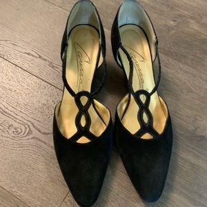 Vintage Caressa black heels